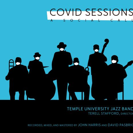 Temple University Jazz Band COVID Sessions album cover