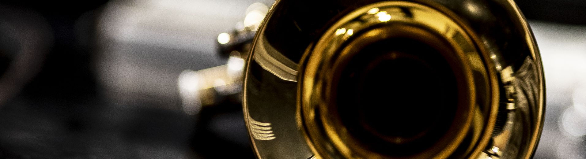 Close up image of trumpet bell